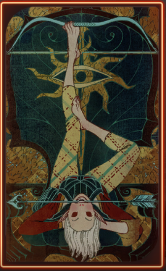 Sera Tarot Card Dragonage